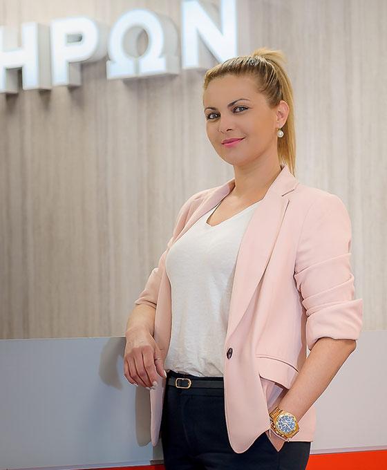 Βένια Τσερκεντζέλη - INDIRECT SALES MANAGER